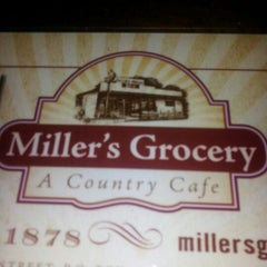 Photo taken at Miller's Grocery by B S. on 3/31/2012