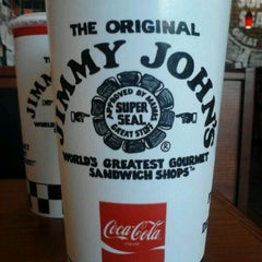 Photo taken at Jimmy John's by Hannah O. on 5/14/2012