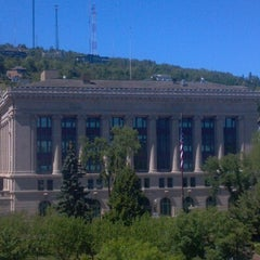 Photo taken at Radisson Hotel Duluth-Harborview by Julie G. on 8/5/2012