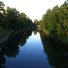 Photo taken at Zmajski most / Dragon Bridge by Gergely F. on 5/8/2012