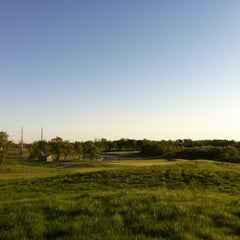 Photo taken at Tiffany Greens Golf Club by Mike B. on 4/8/2012