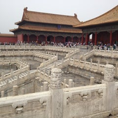Photo taken at 故宫博物院 Forbidden City by Daniele L. on 8/8/2012