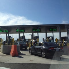 Photo taken at Peace Arch Border Crossing by Manny V. on 3/24/2012