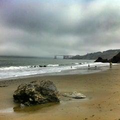 Photo taken at China Beach by Alyssa G. on 7/7/2012