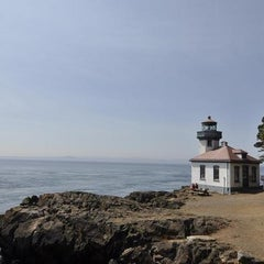 Photo taken at Lime Kiln Point State Park by Carla on 6/11/2012