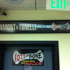 Photo taken at 107.7 The Bone by Baby H. on 7/17/2012