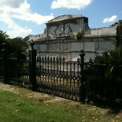 Photo taken at Lafayette Cemetery No. 1 by Stephanie D. on 9/7/2012