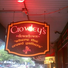 Photo taken at Crowley's Downtown by Lee P. on 7/10/2012