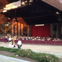 Photo taken at Miller Outdoor Theatre by Jen T. on 5/19/2012