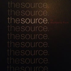 Photo taken at The Source by Wolfgang Puck by Amy S. on 6/1/2012