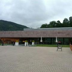 Photo taken at Balneario Elgorriaga by Unai M. on 6/18/2012