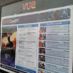 Photo taken at Vue Cinema by Elio Assuncao D. on 7/14/2012