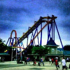 Photo taken at Dorney Park & Wildwater Kingdom by Kareem A. on 7/19/2012