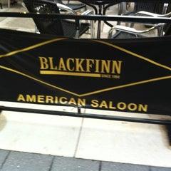 Photo taken at BlackFinn American Saloon by Gary S. on 8/22/2012