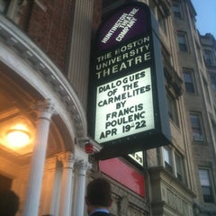 Photo taken at Huntington Theatre Company at the BU Theatre by Charles M. on 4/19/2012