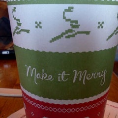Photo taken at Caribou Coffee by Travis C. on 12/11/2011