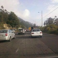 Photo taken at Autopista Simón Bolivar by Alejo P. on 11/30/2011