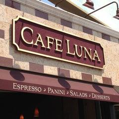 Photo taken at Cafe Luna by John H. on 5/28/2012