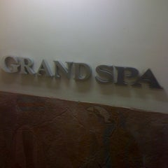 Photo taken at Grand Spa by Jun S. on 10/5/2011