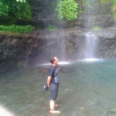 Photo taken at Wisata air terjun curug luhur (bogor) by Habibillah G. on 8/22/2012