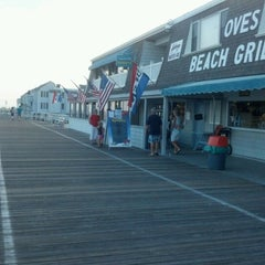 Photo taken at Oves Beach Grill by T.J. M. on 8/6/2012