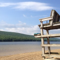 Photo taken at Mauch Chunk Lake Park by Lysa G. on 7/17/2012