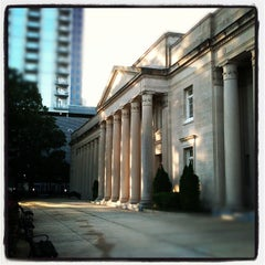 Photo taken at Charles R. Jonas Federal Building U.S. Courthouse by Andy C. on 10/14/2011