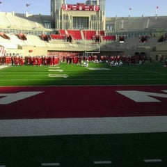 Photo taken at Memorial Stadium by Coach F. on 10/1/2011
