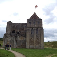 Photo taken at Castle Rising Castle by Chris B. on 7/1/2012