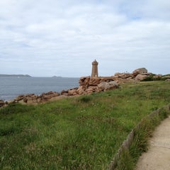 Photo taken at Phare de Ploumanac'h by Christine M. on 7/9/2012