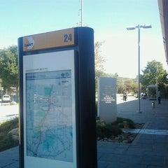 Photo taken at Forest Lane Station (DART Rail) by John U. on 9/10/2012