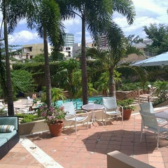 Photo taken at Doubletree by Hilton San Juan by Vin C. on 9/17/2011