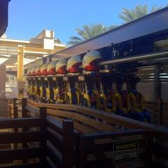 Photo taken at Montu by Amar M. on 1/20/2012