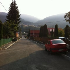 Photo taken at Bușteni by Tryp T. on 9/24/2011