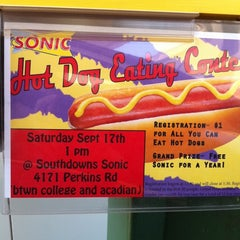 Photo taken at SONIC Drive In by Courtney H. on 9/17/2011