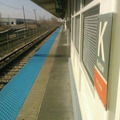 Photo taken at CTA - Kedzie by Serena M. on 12/2/2011