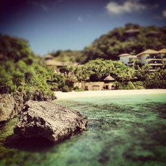 Photo taken at Shangri-La Boracay Resort and Spa by Carlo C. on 2/23/2012