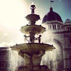 Photo taken at Royal Exhibition Building by Jan D. on 8/5/2012