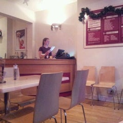 Photo taken at The Burger Joint by Liam B. on 12/3/2011