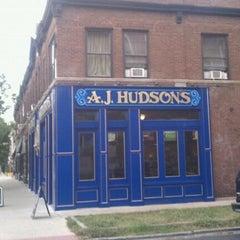 Photo taken at A.J. Hudson's Public House by Rachel R. on 9/21/2011