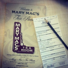 Photo taken at Mary Mac's Tea Room by Catie L. on 7/23/2012