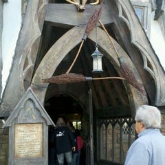 Photo taken at The Three Broomsticks by Stephanie W. on 12/8/2011