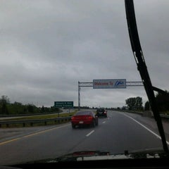 Photo taken at Ohio/Indiana State Line by Jos V. on 5/13/2012