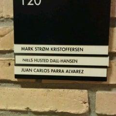 Photo taken at Aarhus Universitet by Juan Carlos P. on 9/10/2011