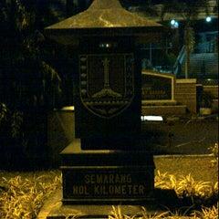 Photo taken at Semarang Nol Kilometer by Samy U. on 2/10/2012