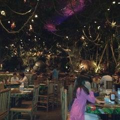 Photo taken at Rainforest Cafe Dubai by Abdulla A. on 4/7/2012