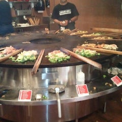 Photo taken at Genghis Grill by Herman B. on 5/26/2011