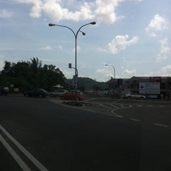 Photo taken at Bukit Minyak Intersection by William O. on 8/7/2011