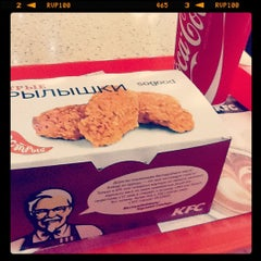 Photo taken at KFC by Christina on 6/12/2012