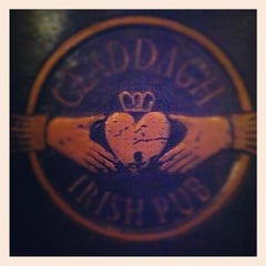Photo taken at Claddagh Irish Pub by Jake B. on 2/24/2012